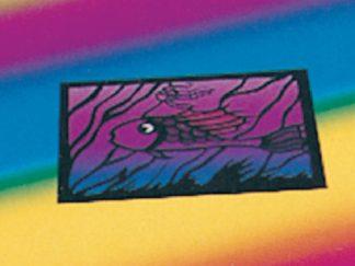 Χαρτί Διαφανές Γλασέ στα Χρώματα του Ουράνιου Τόξου