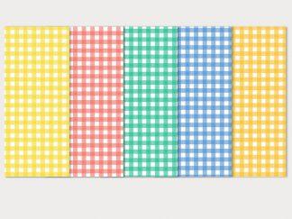 Χαρτόνια καρώ σε παστέλ χρώματα