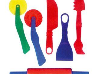 Εργαλεία ζαχαροπλαστικής για πλαστελίνη -0