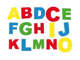 """Σφραγίδες """"Λατινικό Αλφάβητο""""-0"""