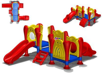 Παιχνίδι-παιδική χαρά Space Game Slide-0