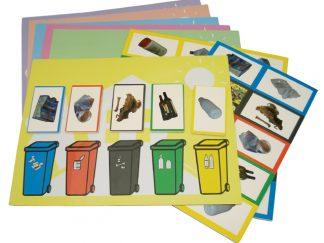 Μαγνητικό παιχνίδι: Ανακύκλωση -Μαθαίνω να ξεχωρίζω τα σκουπίδια-0
