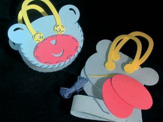 Τσάντα αρκουδάκι από αφρώδες υλικό-0