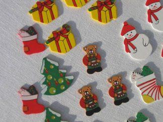 Ξύλινα χριστουγεννιάτικα διακοσμητικά -0