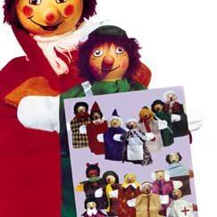 Ξύλινες Κούκλες για Κουκλοθέατρο-0
