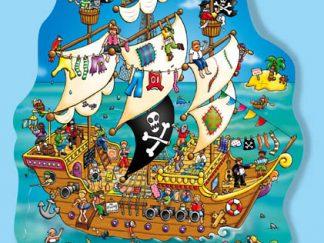 Χάρτινο puzzle – «Το καράβι των πειρατών»-0