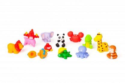 12 λαστιχένια ζώα διαστάσεις 11,5 χ 9,5 cm-0